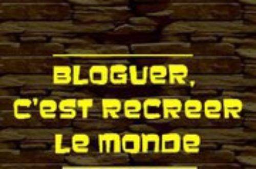 Article : Et Mondoblog me sauva !