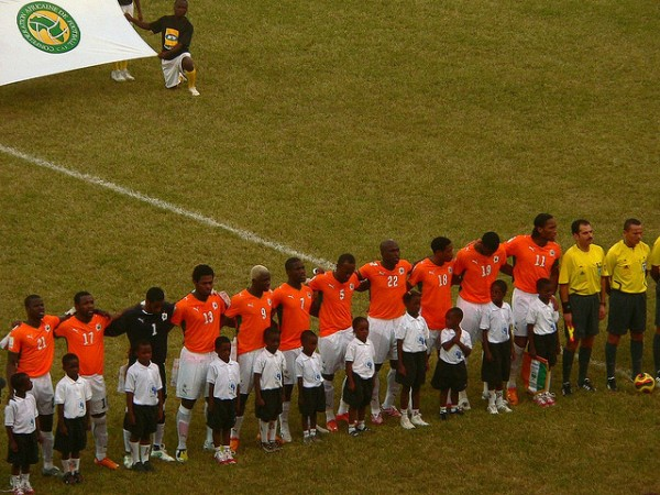 Cote d'Ivoire Team par manbeastextraordinaire, via Flickr CC