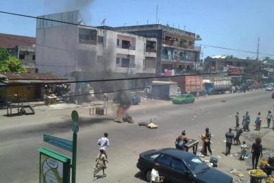 Scène de Violence pos-électorale à Koumassi, AbidjanCrédit Image: Educarrière.ci