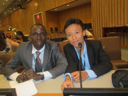 Avec Mon collègue représentant du Vietnam