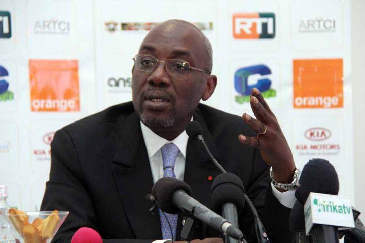 M. Sidy DIALLO en Conférence de Presse (c)Abidjan.net