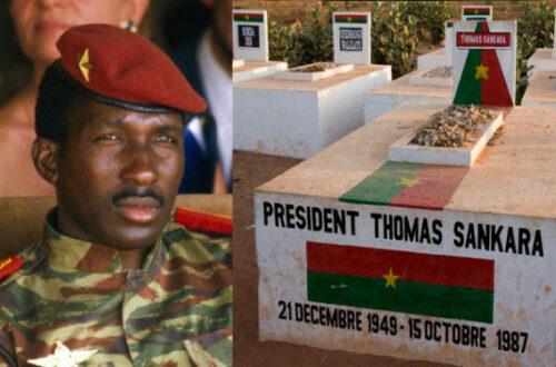Article : Sankara, es-tu là ?