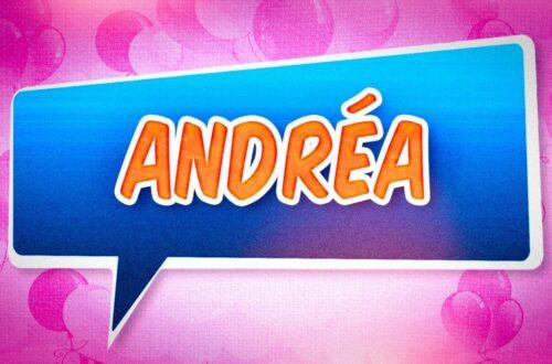 Article : A Andréa, pour la dernière fois