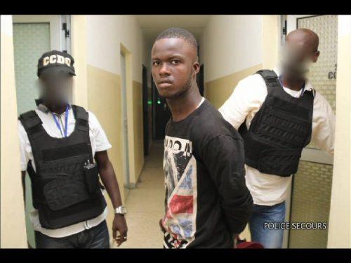 Gbailly, le tueur d'Andréa aux mains de la Police